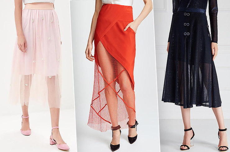 Самый летний тренд: 7 прозрачных юбок для романтичного образа