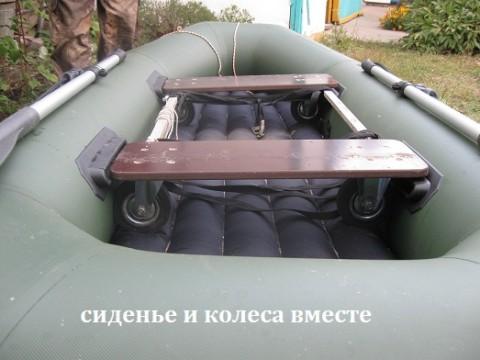 изготовления лодки из резины