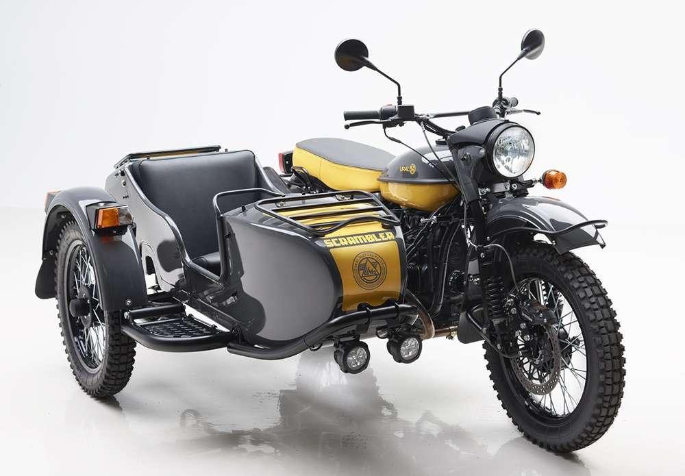 Легендарный российский мотоцикл «Урал» покорил Австралию