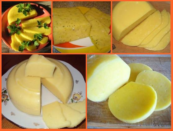 Рецепты приготовления сыра