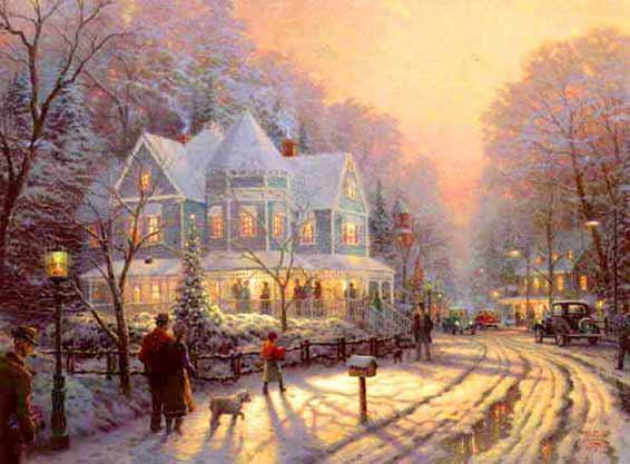 http://www.artbythomaskinkade.com/images/kinkade_holidayGatheringB.jpg