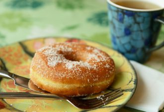 Кефирные пончики за 5 минут