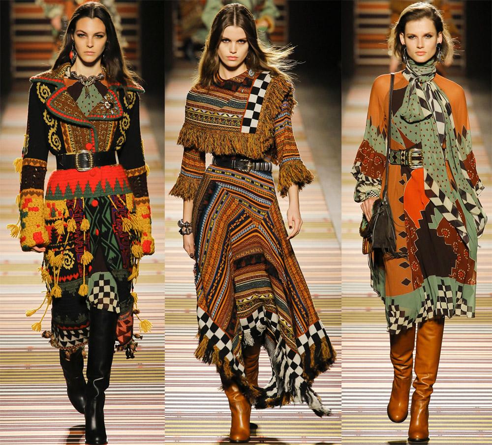 Модные тенденции 2018-2019 из коллекции Etro
