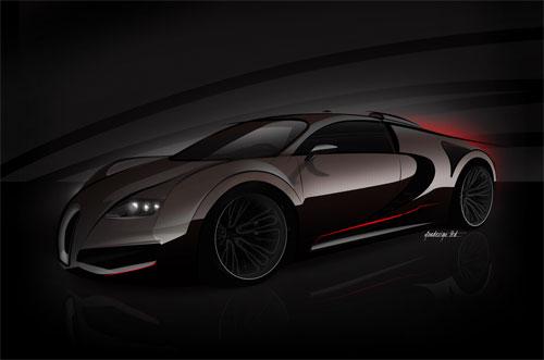 Bugatti Veyron получит немыслимую мощность