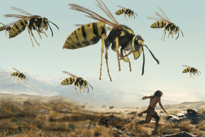 Гигантские насекомые жившие …