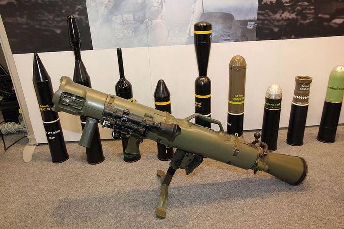 США закупают крупную партию шведских многоразовых гранатометов Carl Gustaf M4