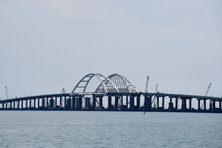 Открытие Крымского моста при…