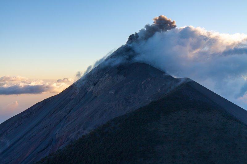 Гватемала. Поход на вулкан Акатенанго путешествия, факты, фото