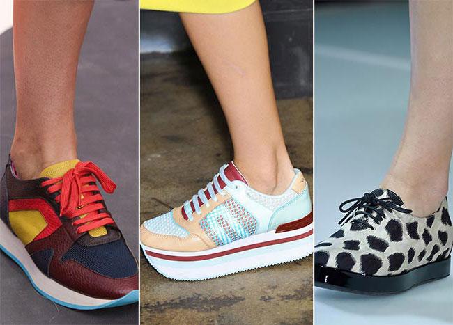 Модные тренды кроссовки
