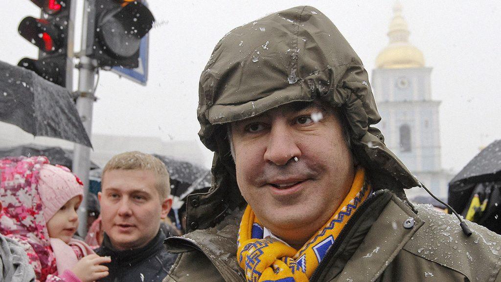 Саакашвили наметил дату «народного импичмента» для руководства Украины