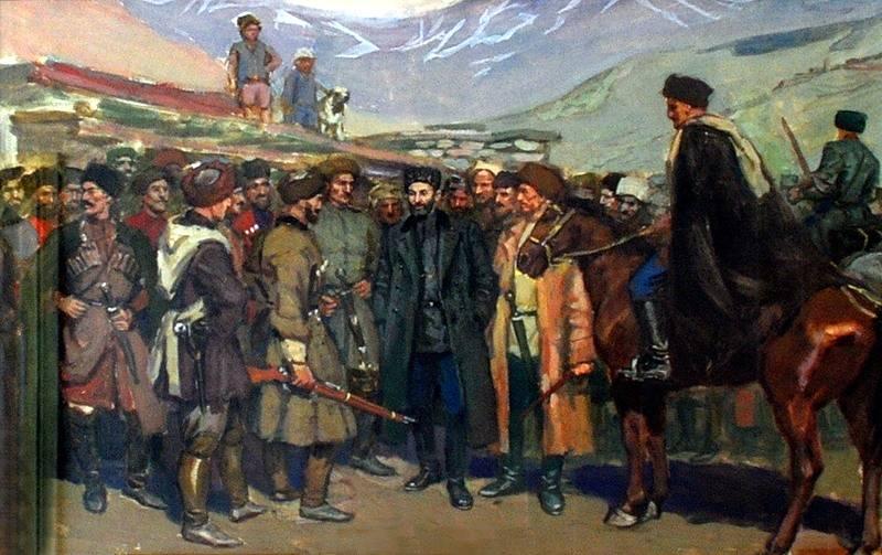 Забытая южноосетинская война 1919-1920 годов