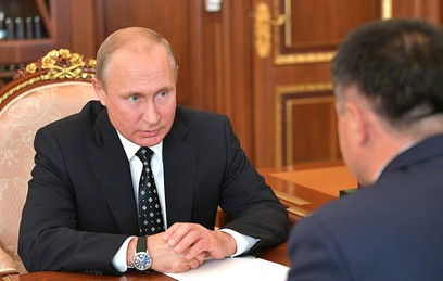 Врио губернатора Приморья пожаловался Путину на проблемы с рыболовством