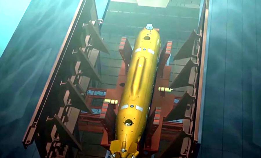 «Посейдон»: Минобороны впервые показало ядерную суперторпеду