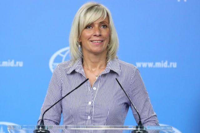 Захарова: ситуация с Крымом …