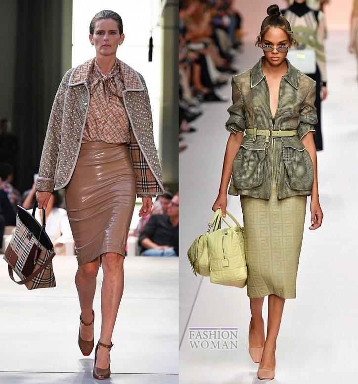 Модные юбки весна-лето 2019 фото №6