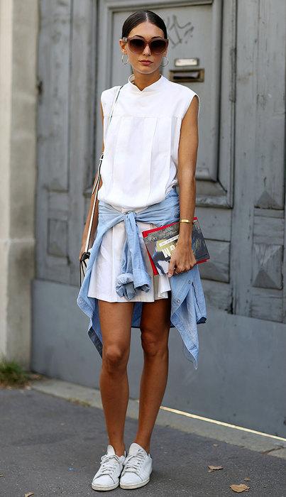 модное платье рубашка счем носить