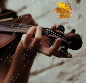 Осенняя песенка.  Верлен