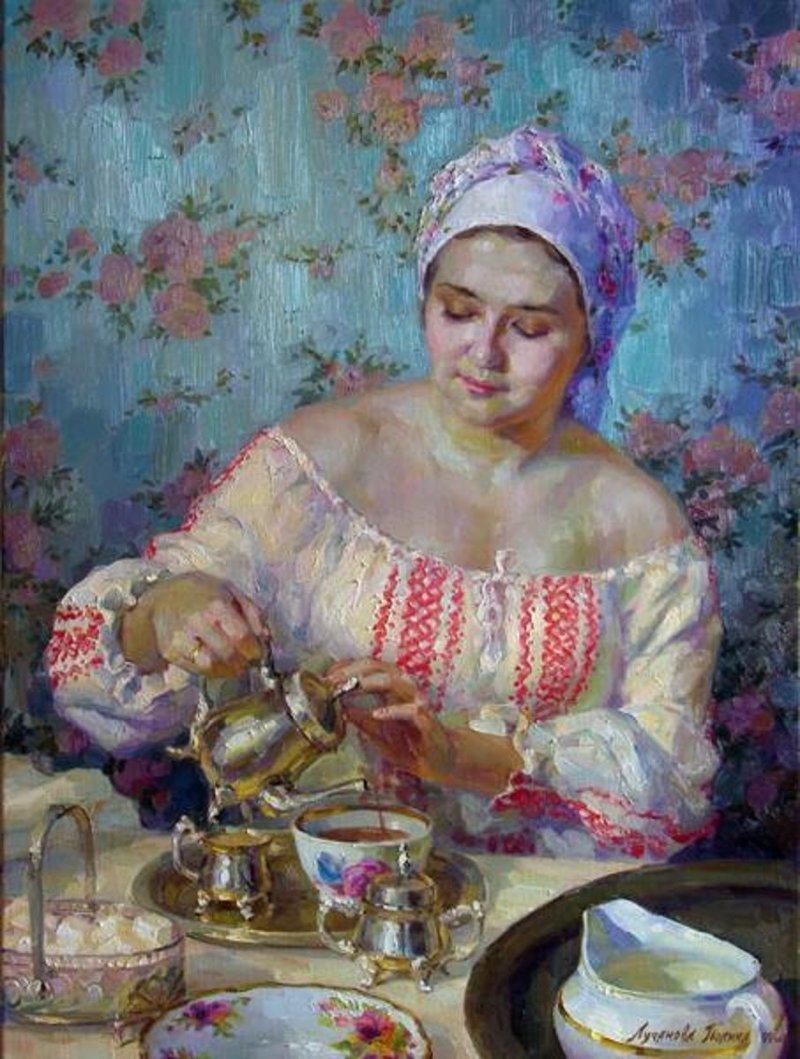 Русское чаепитие: вот с каки…