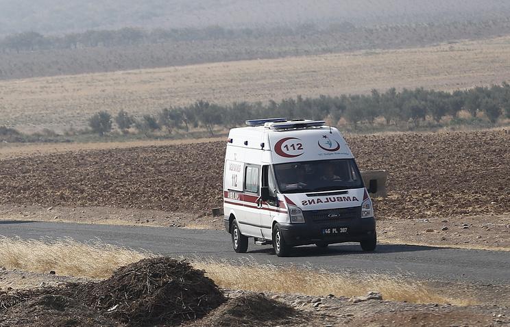 В Турции перевернулся микроавтобус с российскими туристами