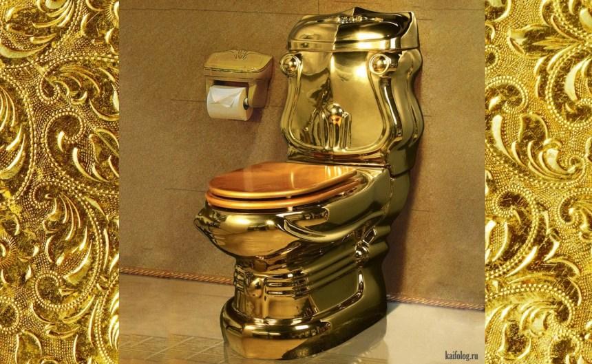 Пропала элитная сумка с золотым унитазом внутри: Сотрудника нефтяной компании обокрали в Кремле