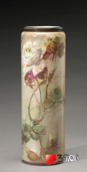 Vase with Pink and Yellow Roses (305x600, 30Kb)