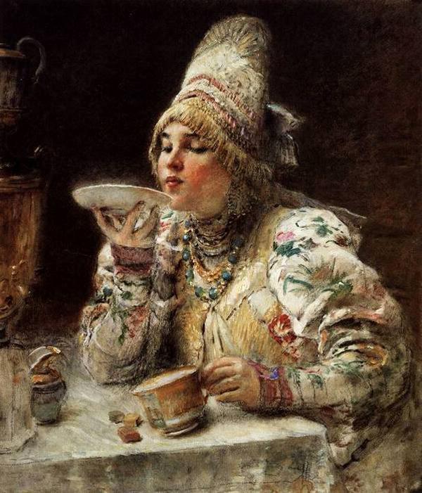 Как чай стал любимым напитком у русских