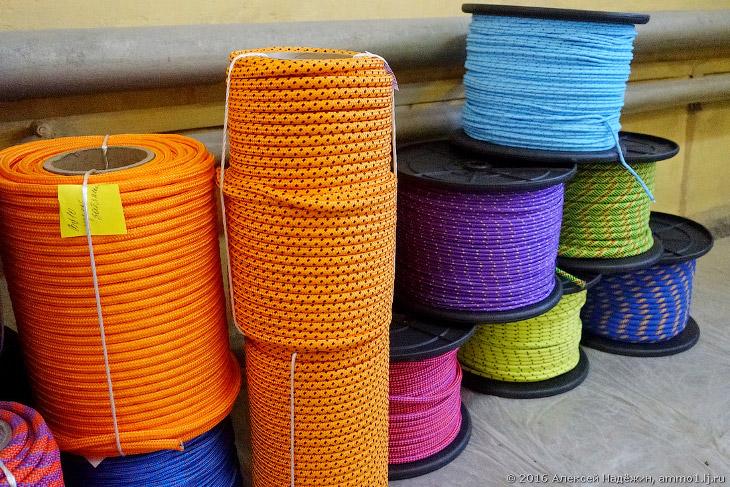 Как создают канаты и альпинистские верёвки