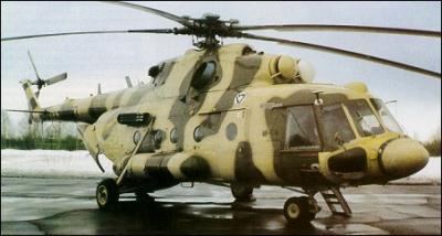 Турецкие ВВС сбили сирийский вертолёт Ми-17