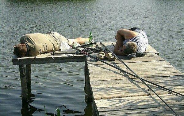 Анекдоты о рыбаках и рыбалке — рыбак рыбака и это нормально?