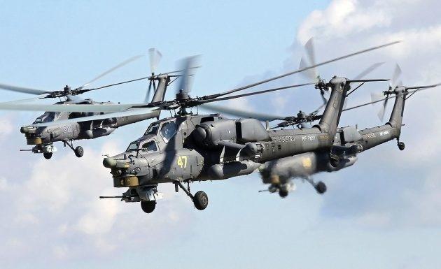 Армейская авиация ЮВО пополнилась новейшими учебно-боевыми вертолетами Ми-28УБ