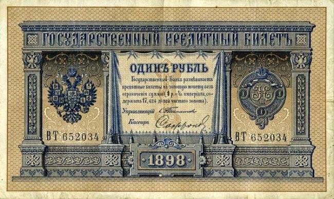 Эволюция Российского рубля