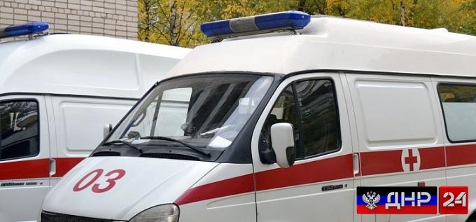 При взрыве автобуса в Дебальцево пострадали дети