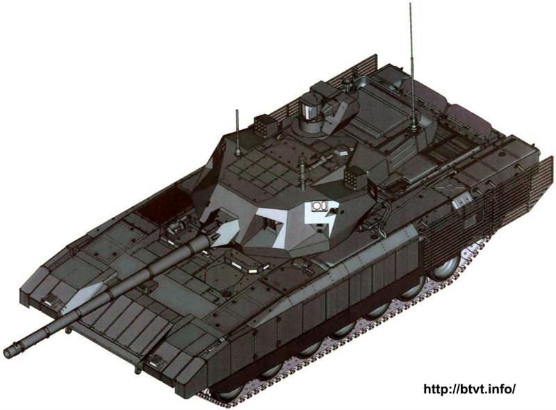 """Танк Т-14 """"Армата"""" снаружи и внутри"""