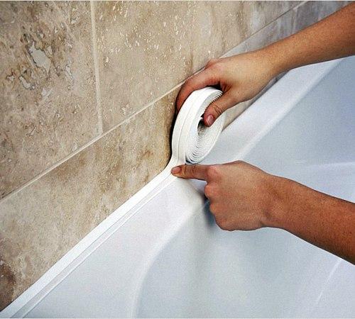 Бордюрная лента для ванной: …