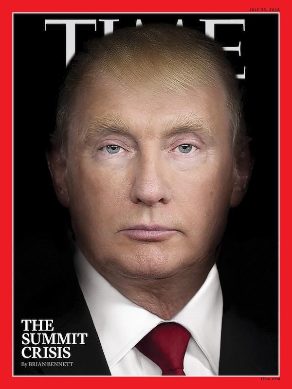Обложка свежего номера Time
