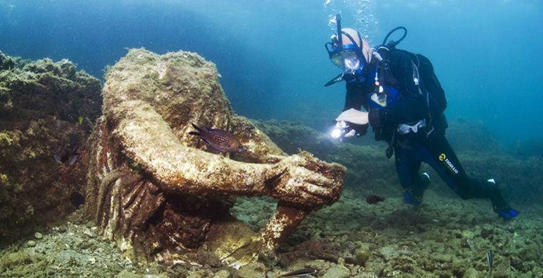 Фотограф показал затонувший «древнеримский Лас-Вегас»