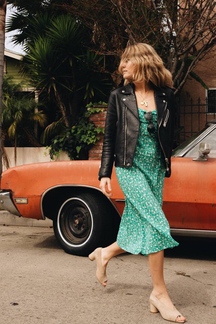 Яркий тренд в Pinterest: как носить зеленый цвет летом?