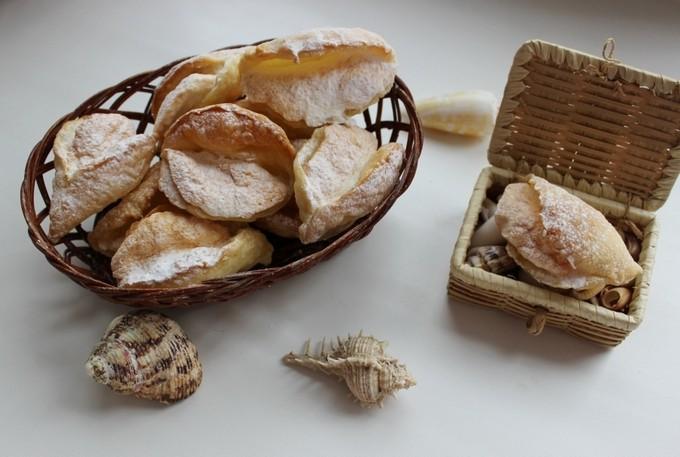 Пирожные «Мидии»
