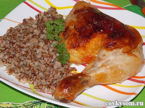 Как приготовить курицу в духовке