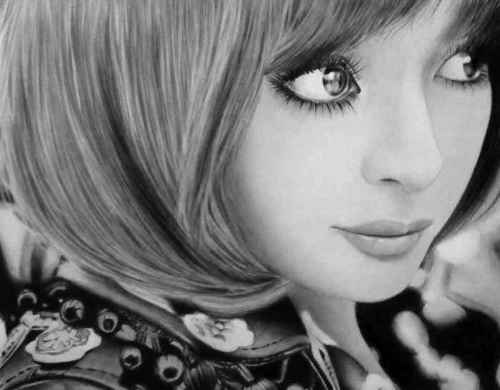Рисунки карандашом Кена Ли