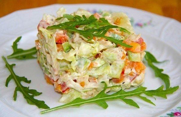 Топ-6 вкуснейших салатов с к…