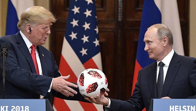 """Раскрыта связь Путина и """"нового мирового порядка"""""""