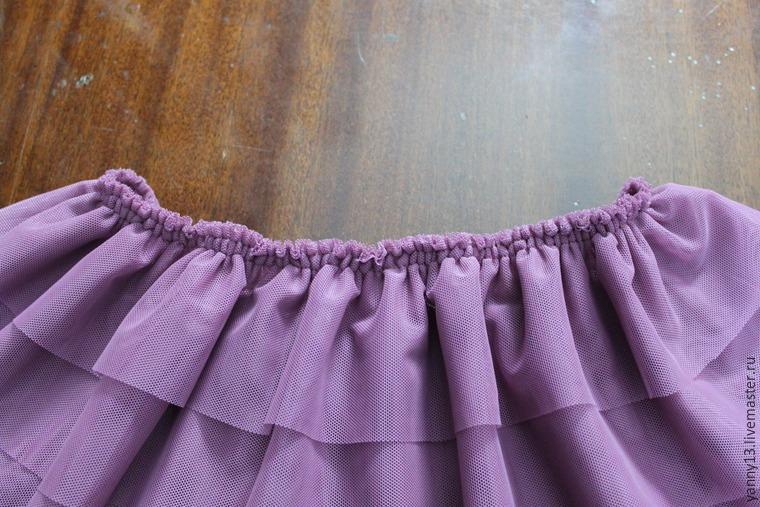 Как сшить пышную юбку самой себе
