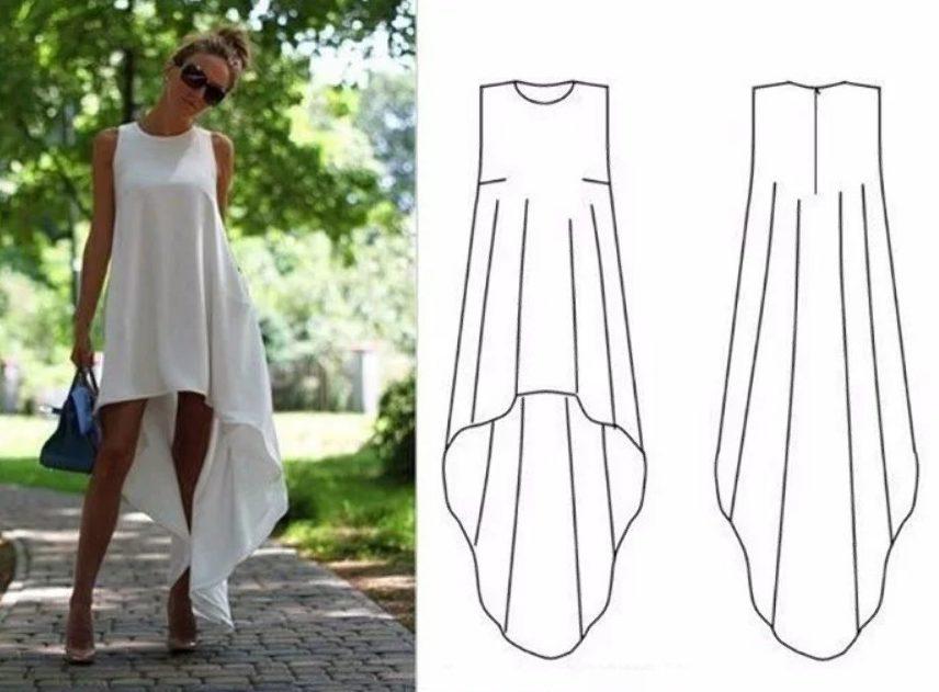 летнее платье 12