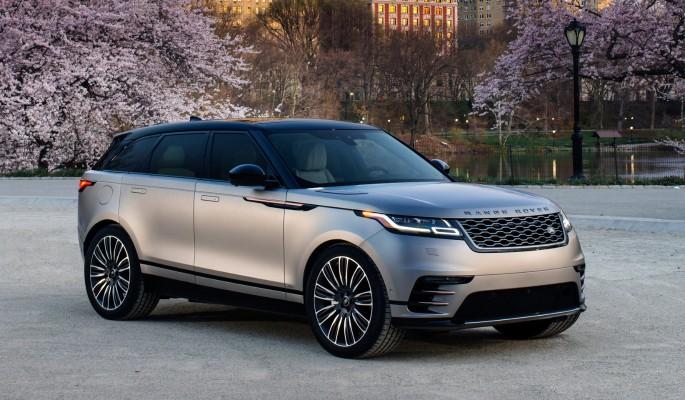 Range Rover Velar: смартфон …