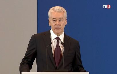 Собянин рассказал о росте налоговых поступлений в Москве