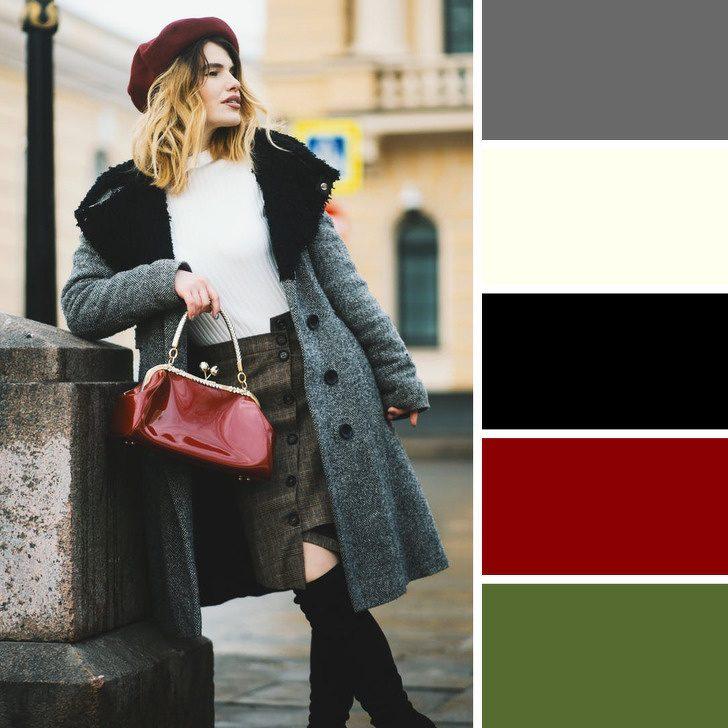 Секреты, которые помогут правильно подбирать цвета в зимнем гардеробе