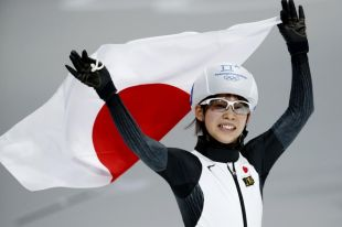 Японская конькобежка Нана Такаги выиграла масс-старт на ОИ-2018