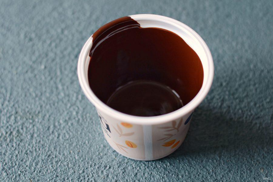 Как сделать шоколадный стаканчик
