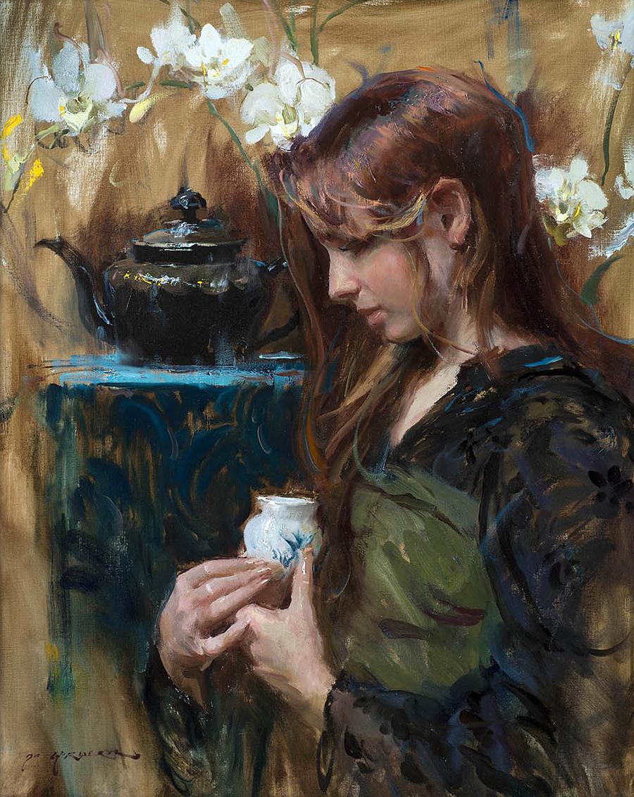 Американский художник Даниэль Ф. Герхартц